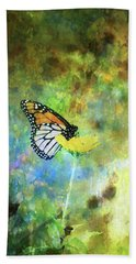 Monarch In Azure And Gold 5647 Idp_2 Beach Towel