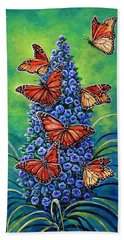 Monarch Waystation Beach Towel