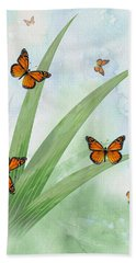 Monarchs Beach Towel