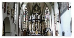 Monastery Church Oelinghausen, Germany Beach Towel