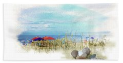 Monday Afternoon Beach Towel