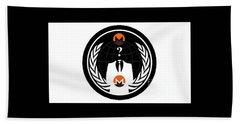 Monero Anonymous Beach Towel