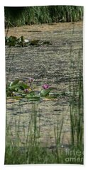 Monet At Giverny Beach Towel