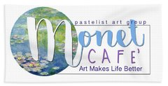 Monet Cafe' Products Beach Towel