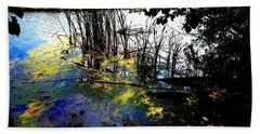 Monet Ice Age Pond Beach Sheet