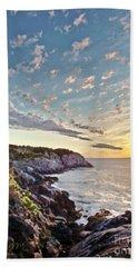 Monhegan East Shore Beach Towel by Tom Cameron