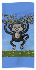 Monkey For Elli Beach Sheet