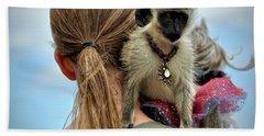 Monkeying Around Beach Towel