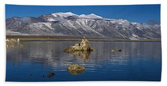 Mono Lake Pano Beach Towel by Wes and Dotty Weber