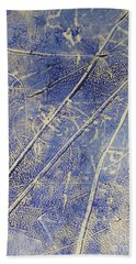 Mono Print 007 -   Panda Ate All The Bamboo Leaves Beach Towel by Mudiama Kammoh