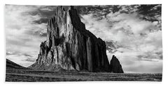 Monolith On The Plateau Beach Towel by Jon Glaser