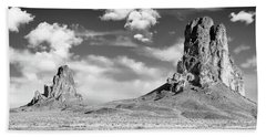 Beach Sheet featuring the photograph Monoliths by Jon Glaser