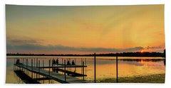 Monona Sunset Beach Towel