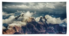 Monsoon Clouds Grand Canyon Beach Towel