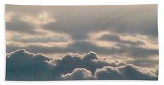 Monsoon Clouds Beach Sheet
