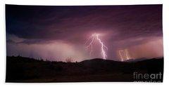 Monsoon Lightning Beach Sheet