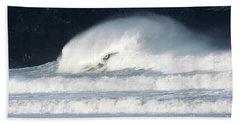 Monster Wave Beach Towel