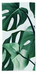 Monstera Beach Sheet