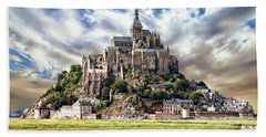Mont Saint-michel Beach Towel