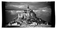 Beach Sheet featuring the photograph Mont Saint Michel by Elf Evans