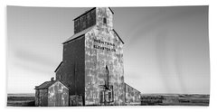 Montana Elevator Company Beach Towel by Todd Klassy