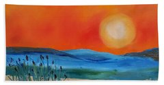 Montana Firery Sunset             49 Beach Sheet