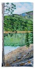 Montana - Lake Como Beach Towel