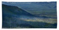 Montana Mountain Vista #3 Beach Sheet