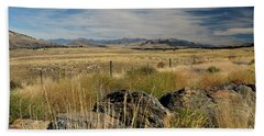 Montana Route 200 Beach Towel by Cindy Murphy - NightVisions