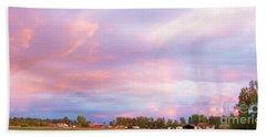 Montana Sunset 1 Beach Sheet