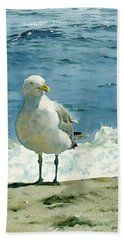 Montauk Gull Beach Towel