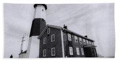 Montauk Lighthouse Beach Towel