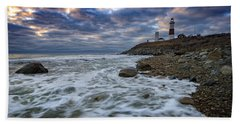 Montauk Morning Beach Towel