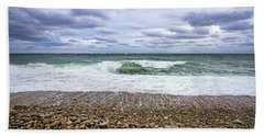 Montauk Shore Break Beach Towel