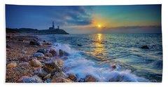 Montauk Sunrise Beach Towel