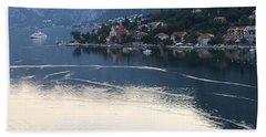 Montenegro Bay Of Kotor Beach Towel