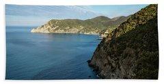 Monterosso And The Cinque Terre Coast Beach Towel