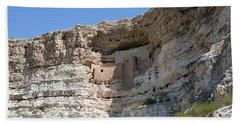 Montezuma Castle National Monument Arizona Beach Towel