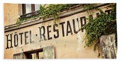 Montmartre Hotel Restaurant  Beach Towel