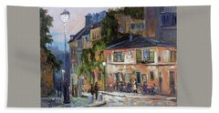 Montmartre, Paris Beach Towel