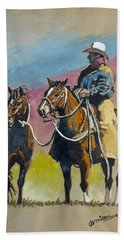 Monty Roberts Beach Towel