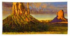 Monument Passage Beach Towel