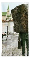 Monument To The Unknown Official Bureaucrat 7203 Beach Towel