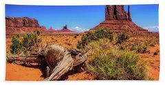 Monument Valley Desert  Beach Sheet