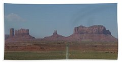 Monument Valley Navajo Tribal Park Beach Towel