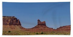 Monument Valley North View Beach Towel