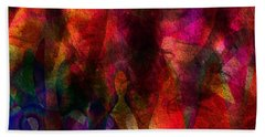 Moods In Abstract Beach Towel