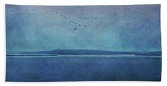 Moody  Blues - A Landscape Beach Towel