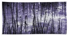 Beach Towel featuring the photograph Moody Mud by Laura Ragland
