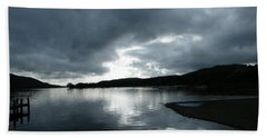 Moody Sky Beach Towel